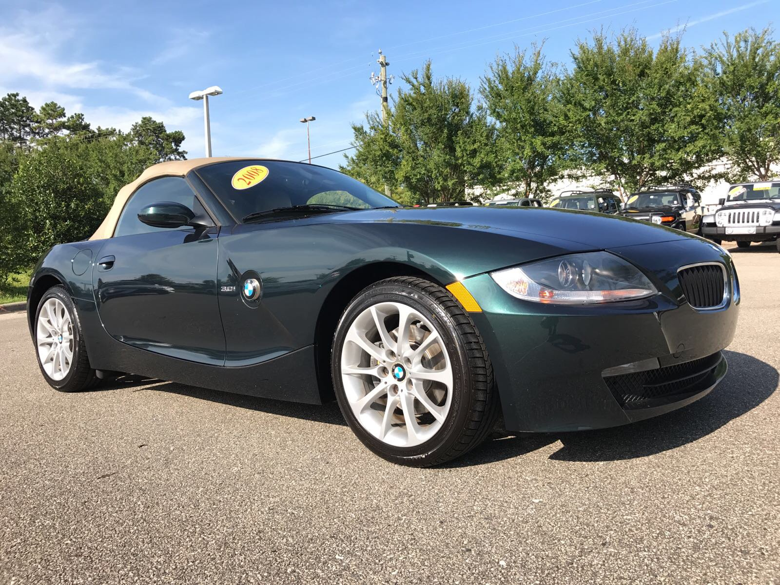 PreOwned 2008 BMW Z4 30i Convertible in Tallahassee 13405PA