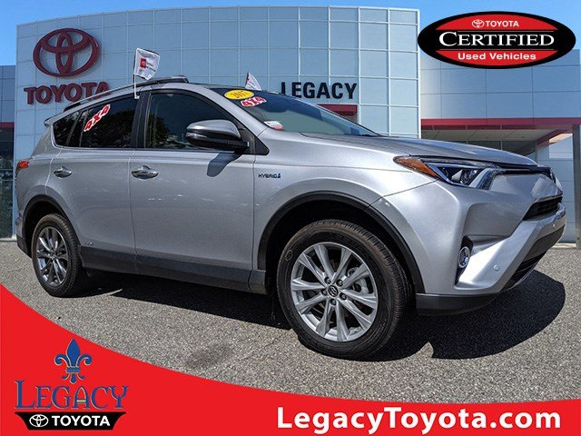 Certified Pre-Owned 2017 Toyota RAV4 Hybrid LTD